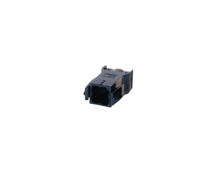 powerpole® pak black plug housing with latch 2-4 position